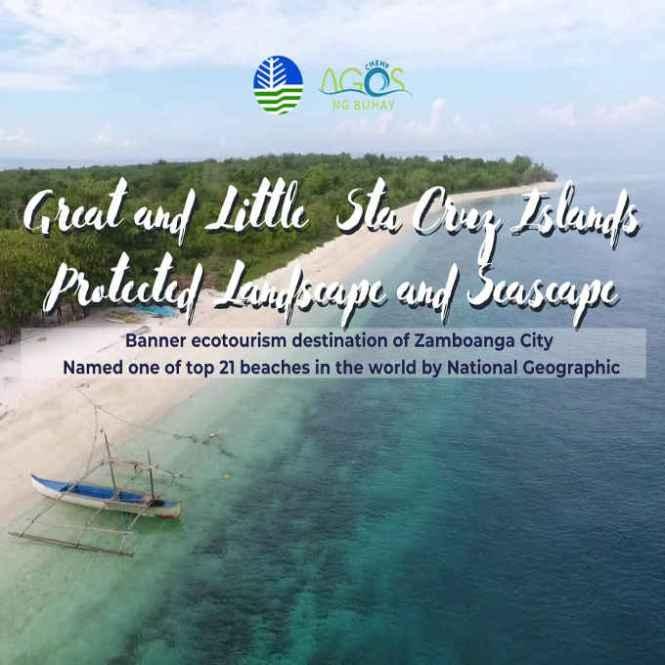 great and little sta cruz islands