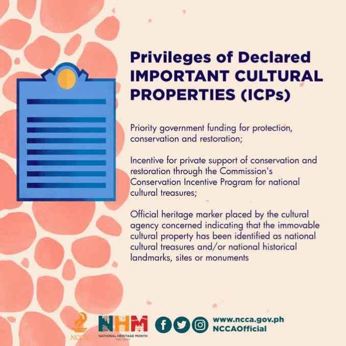 privileges important cultural properties