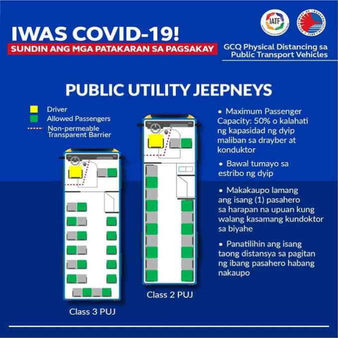 ride rules for jeepneys