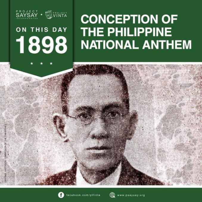 june 5 1898 conception of the philippine national anthem