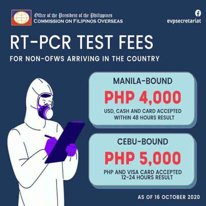 rt-pcr test fees