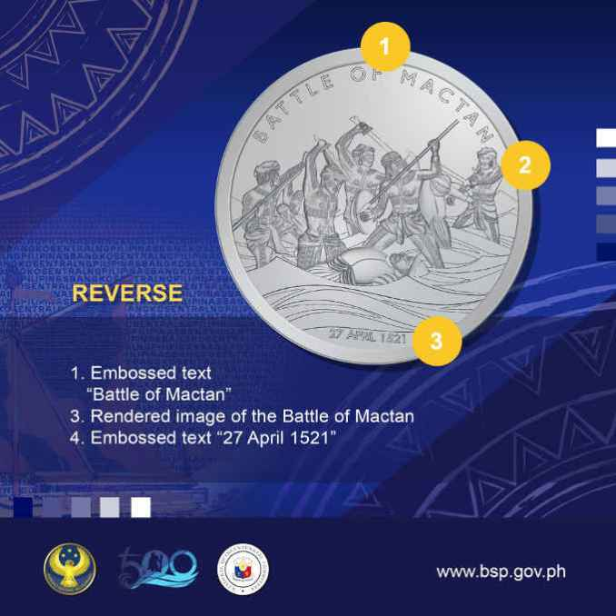 lapulapu commemorative medal reverse