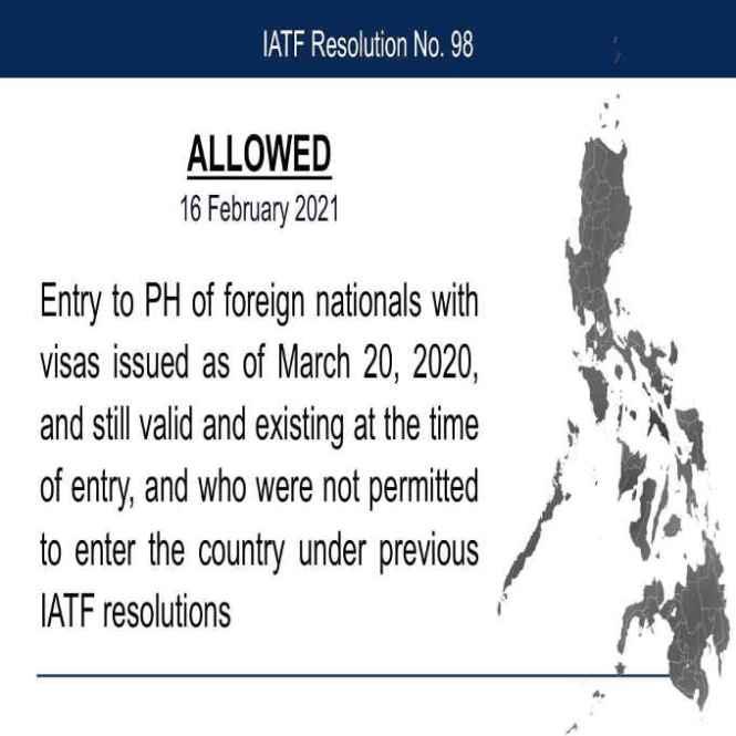 iatf resolution no. 98