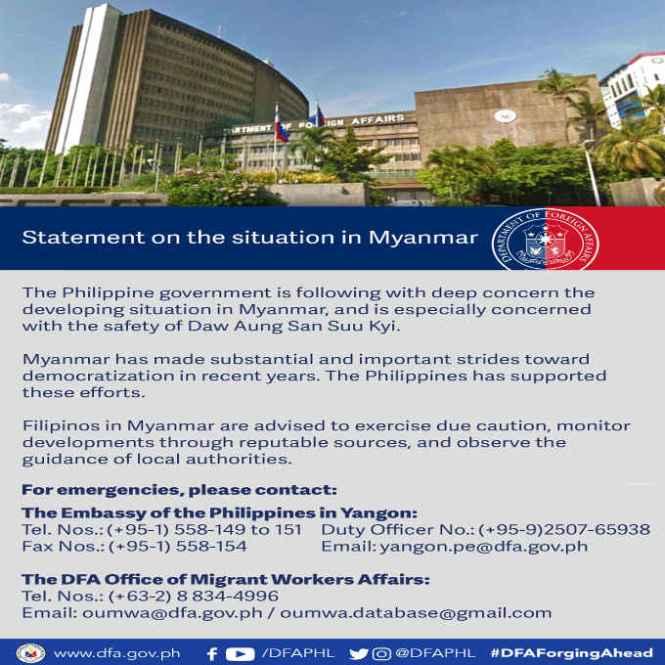 myanmar philippine embassy