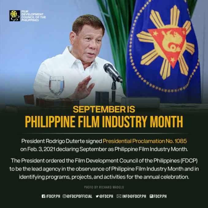 philippine film industry month