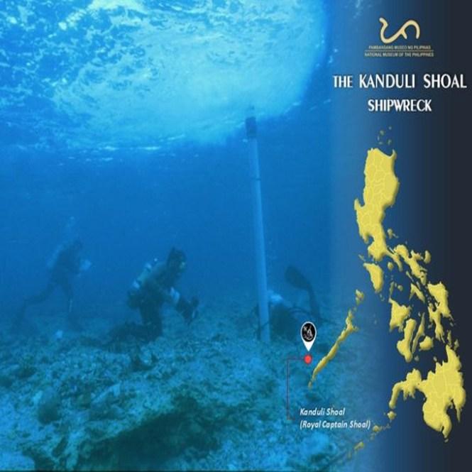 kanduli shoal shipwreck