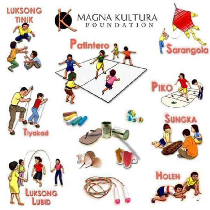 old filipino traditional games
