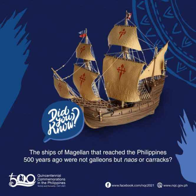 what are the 5 ships of magellan