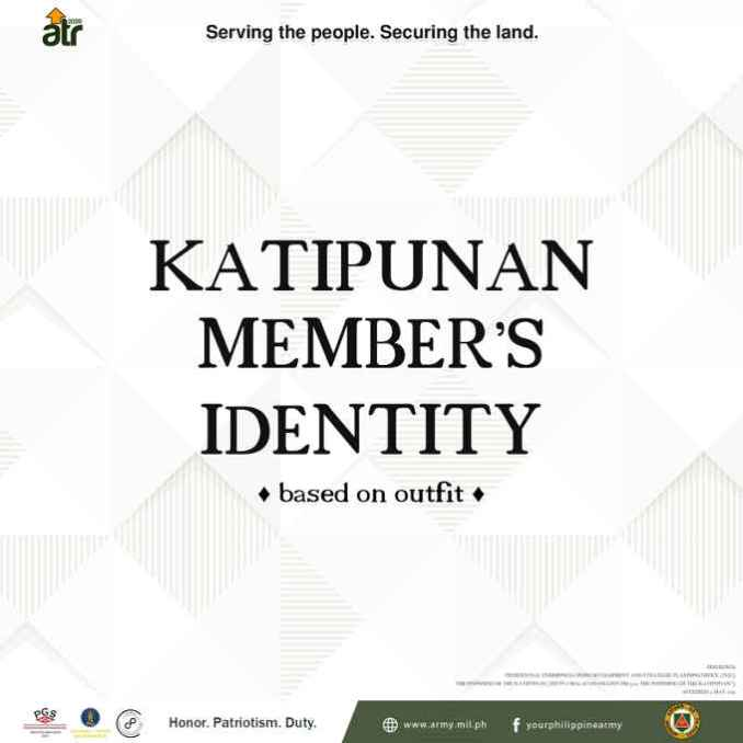 katipunan member's identity