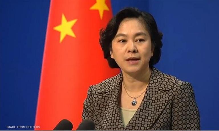 China Foreign Ministry spokeswoman Hua Chunying (File photo)