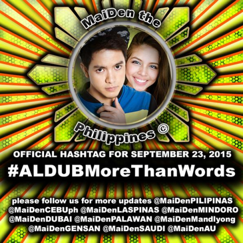 ALDUB More Than Words
