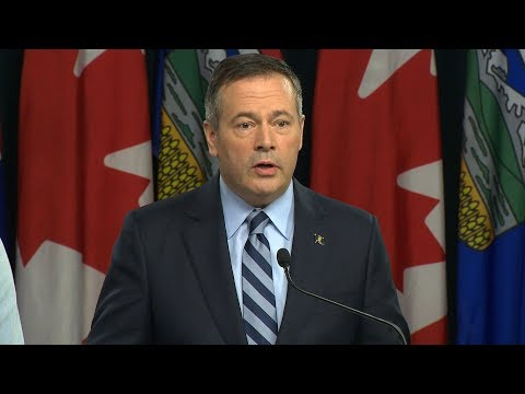 Kenney says 'turn off the tap' legislation underscores Alberta's pipeline position