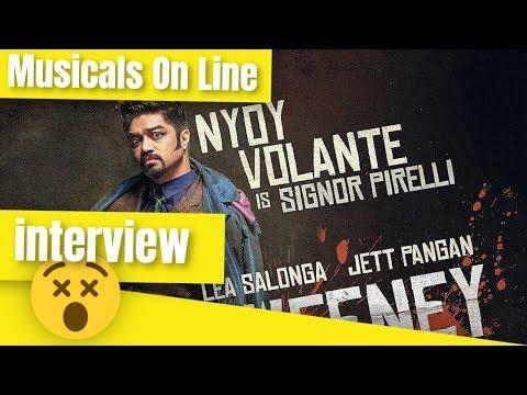 Nyoy Volante interview - Sweeney Todd Manila - Sweeney Todd Manila 2019