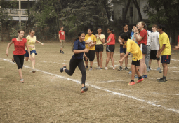 Rosie's 100m sprint