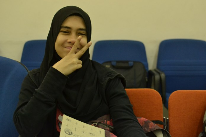 Farhana, somebody who had to leave the programme earlier than planned