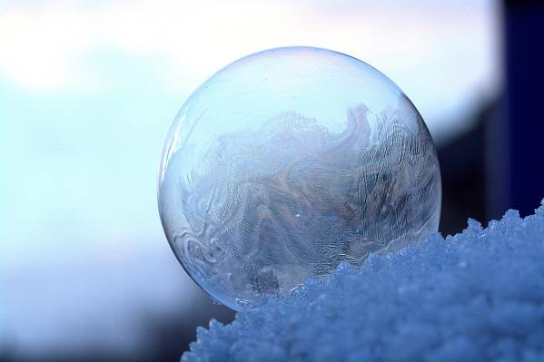 On a Bubble (Poetry)