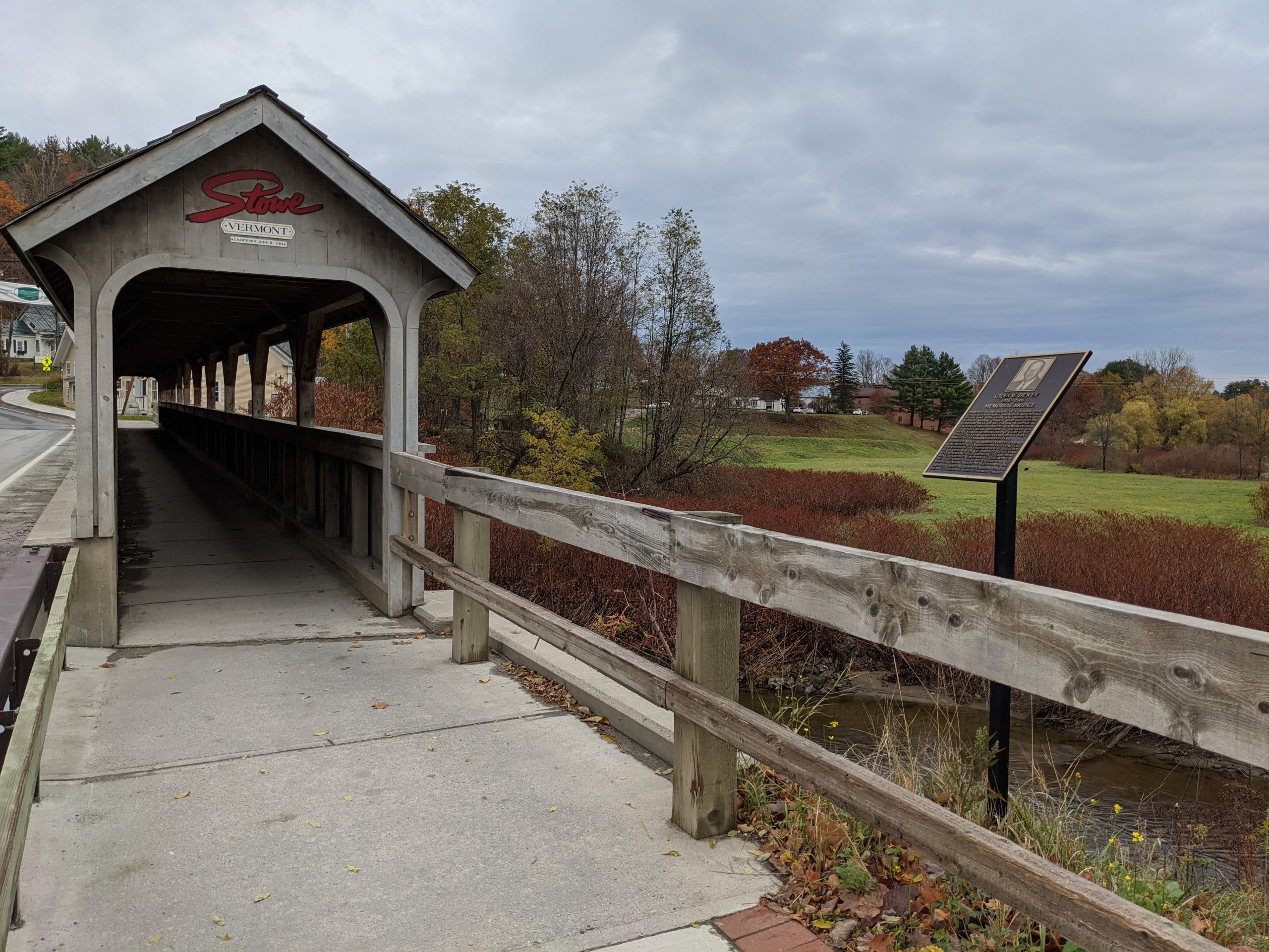 Stowe, Vermont Covered Bridge