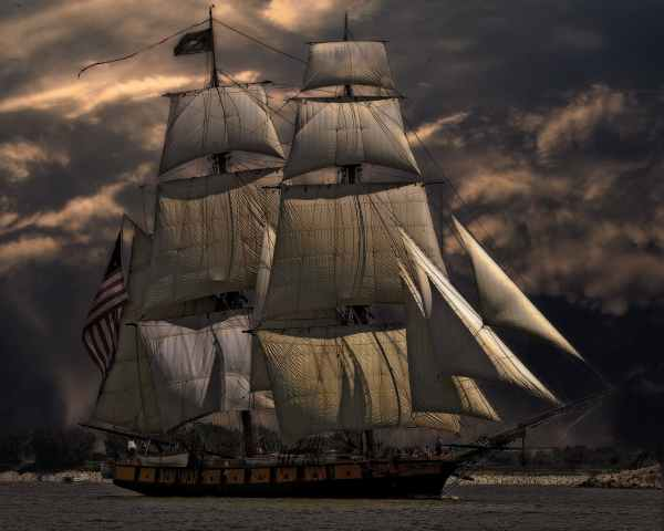 The Captain and His Accuser (Poetry)