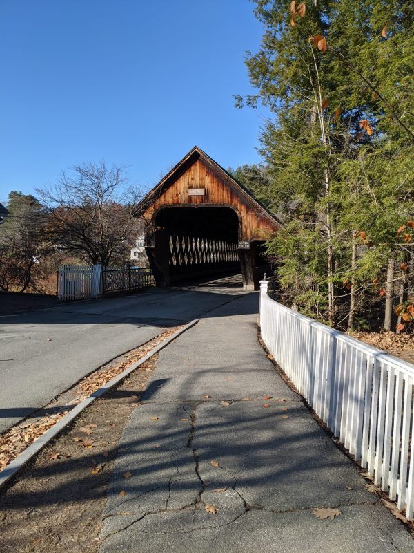 Woodstock Middle Bridge, Vermont (Photo)