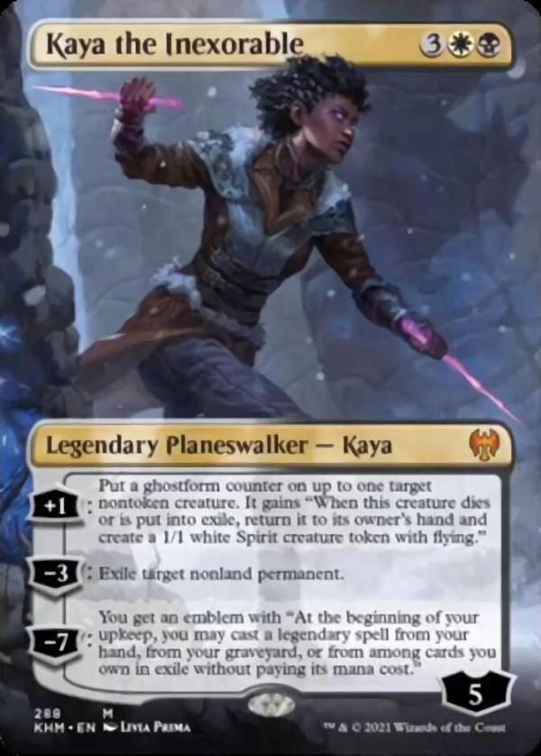 Kaya the Inexorable – A Magic the Gathering Card Review