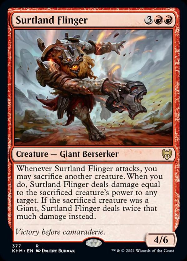 Surtland Flinger – A Magic the Gathering Card Review