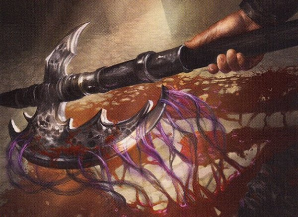 Bloodforged Battle-Axe – A Magic the Gathering Commander Card Review
