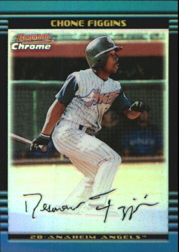 Chone Figgins 2002 Bowman Chrome – A Baseball Rookie Card Review