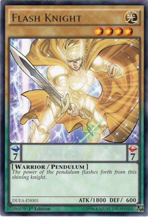 Flash Knight – A YuGiOh Card Review