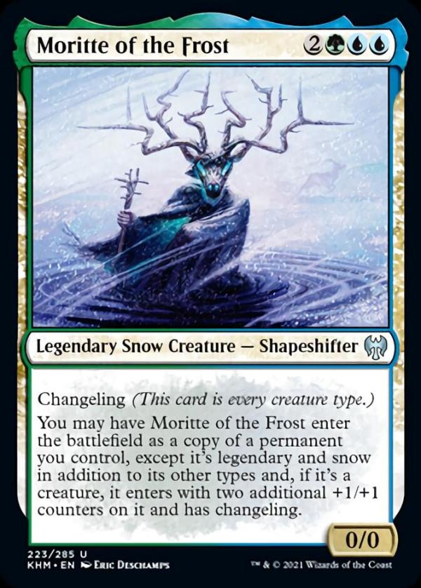 Moritte of the Frost – A Magic the Gathering Card Review