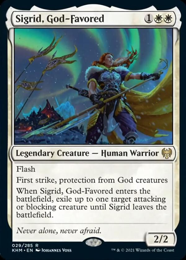 Sigrid, God-Favored – A Magic the Gathering Card Review