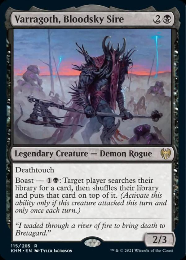 Varragoth, Bloodsky Sire – A Magic the Gathering Card Review