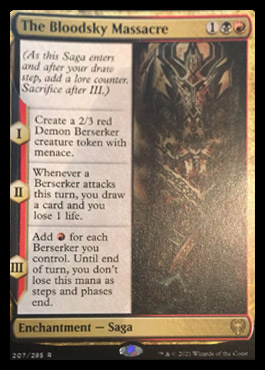 The Bloodsky Massacre – A Magic the Gathering Card Review