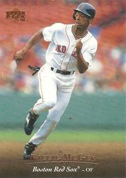 A Guide to Willie McGee Red Sox Baseball Cards