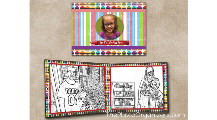 A Personalized Coloring Book For The Child Who Has Everything