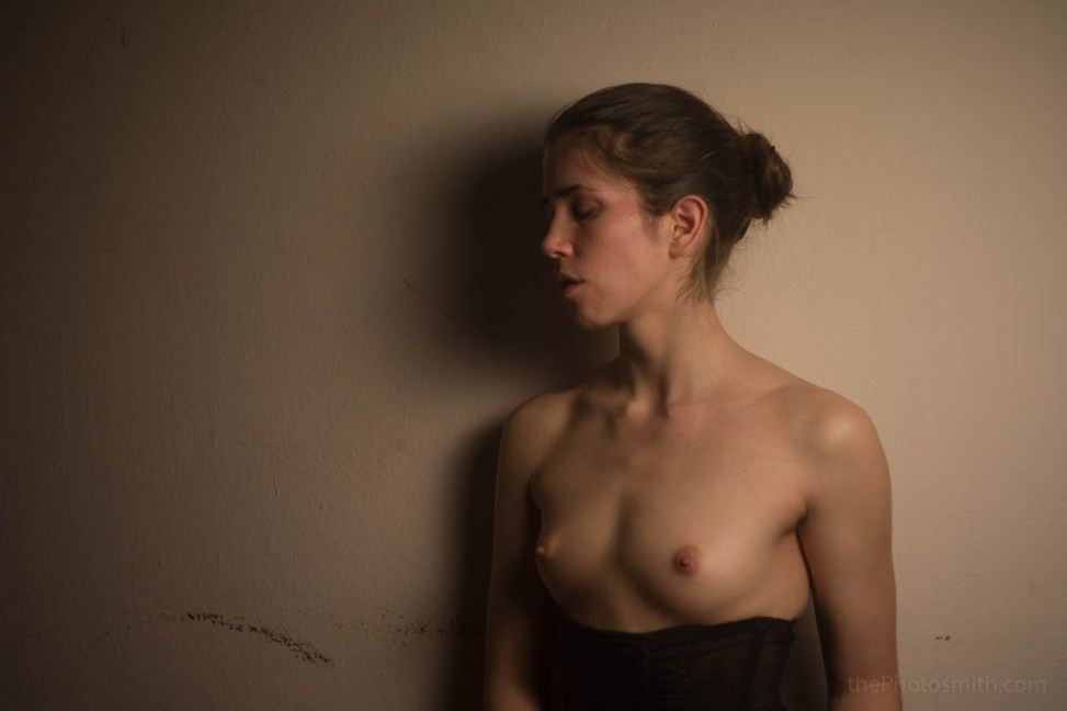 Nude portrait of Renee by ThePhotosmith
