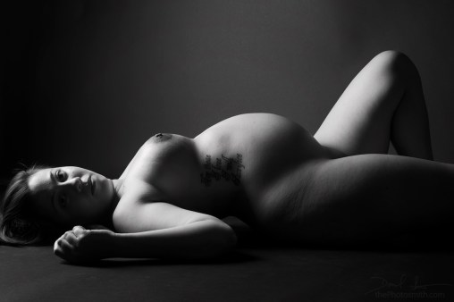 beautiful nude mother to be by ThePhotosmith