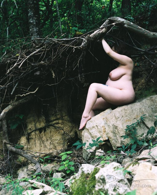 maternity art nude in nature by thePhotosmith
