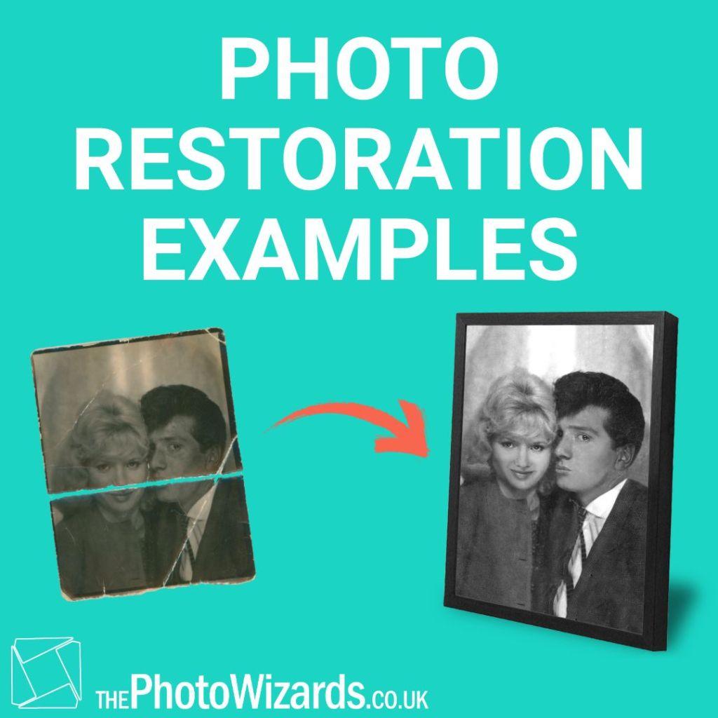 Photo Restoration Examples