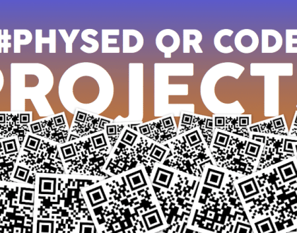 Using QR Codes In Physical Education