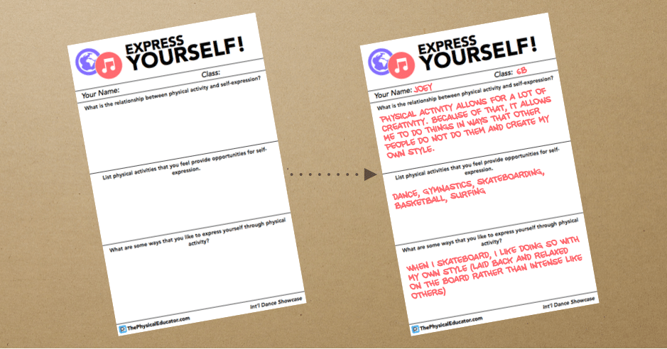 Express Yourself Assessment Banner