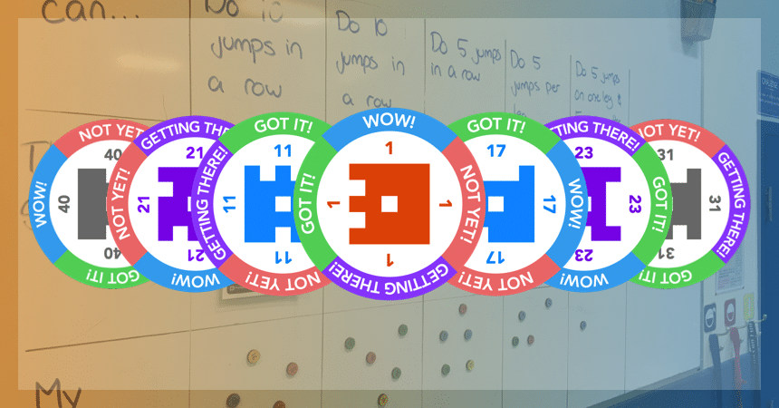 Plickers Assessment Magnets Design