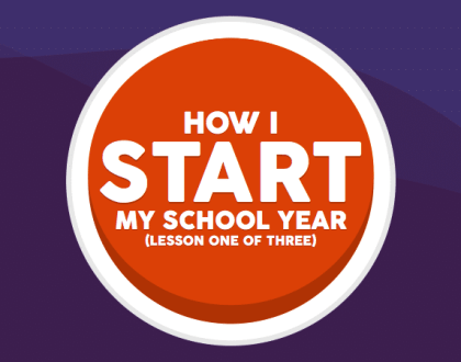 Starting The School Year (Part One)