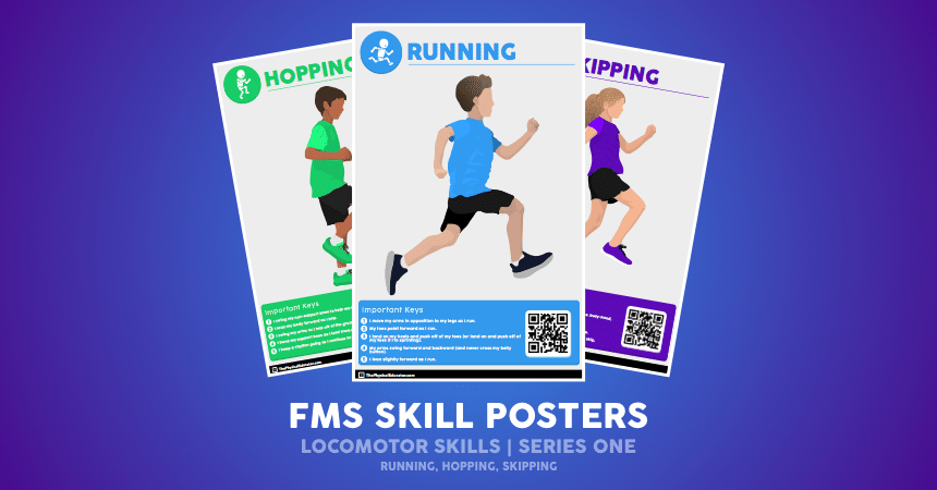 FMS Skill Poster Locomotor Series One Promo