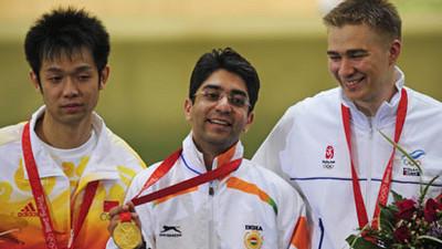 Abhinav Bindra Gold at Beijing Olympics 2008, Abhinav Bindra Gold Medal, Beijing Olympics 2008