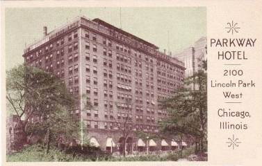 postcard-chicago-parkway-hotel-2100-lincoln-park-west-nice-early