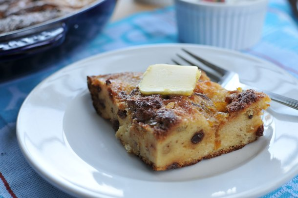 Easy Baked Panettone French Toast (with Greek Yogurt & Marmalade Custard) // the pig & quill