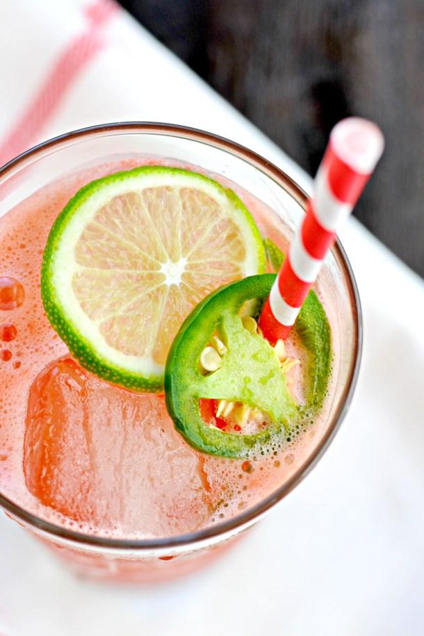 Jalapeño Watermelon Agua Fresca - a drinko for Cinco // the pig & quill