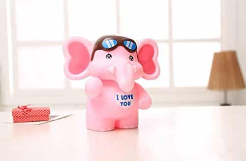 Buy SAVING NOW Pink Elephant Piggy Bank Makes A Perfect