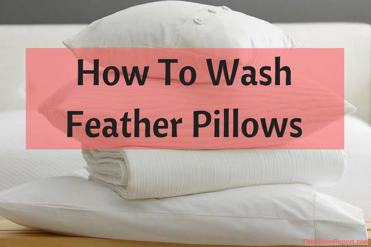 to wash feather pillows martha stewart