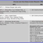 HSBC Credit Card Promo: Free KFC Meals or SM Cinema Movie Cards